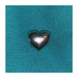 Silver heart Pandora charm